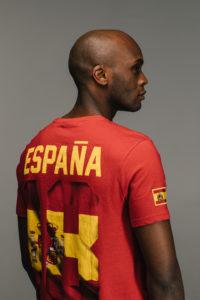 KAPORAL CAMPAGNE mixte SS 19 T shirt #tousfoot rouge espagne coupe du monde 2018 en vente chez blackstore