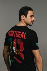 KAPORAL CAMPAGNE mixte SS 19 T shirt #tousfoot noir portugal coupe du monde 2018 en vente chez blackstore