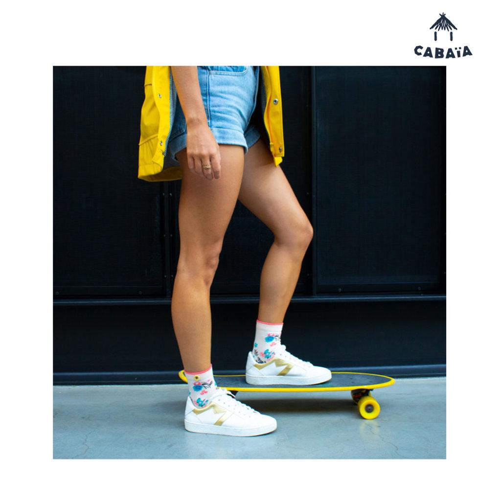 Rayées ou à poix, les chaussettes sont LA touche mode de cet hiver. Pour être fashion avec Cabaïa, rendez-vous dans les magasins BLACKSTORE.