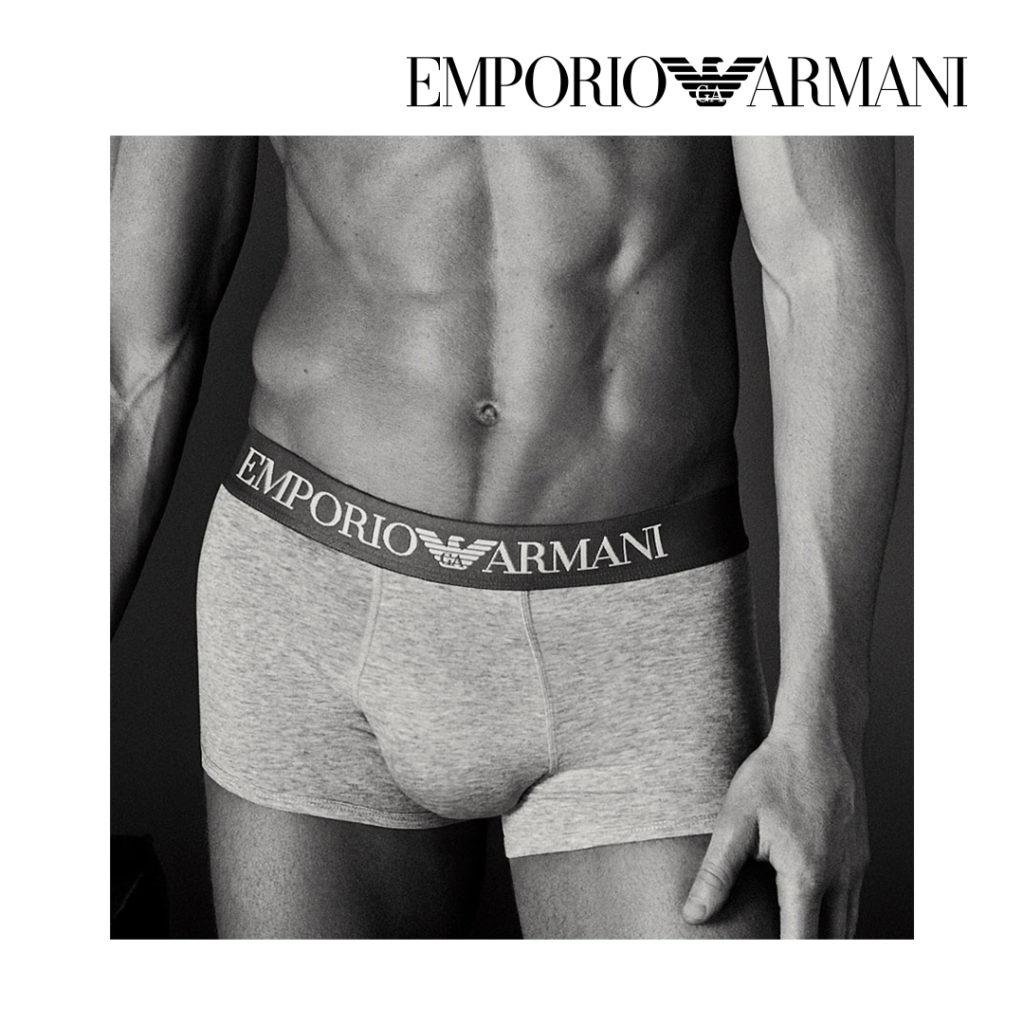 Chez BLACKSTORE, le style est dans le détail et de la tête aux pieds. Être tendance avec Emporio Armani, c'est facile avec les caleçons.